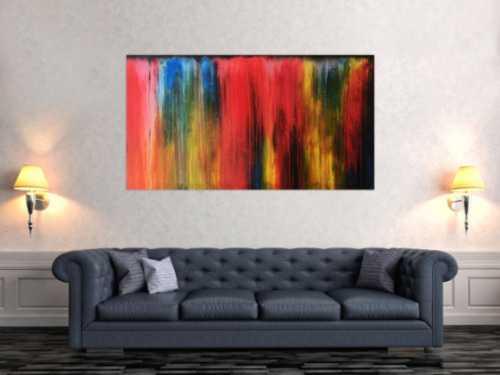 Acrylbild modern bunt abstrakt