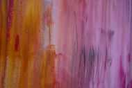 Detailaufnahme Abstraktes Acrylbild Mischtechnik modern zeitgenössisch in altrosa magenta anthrazit