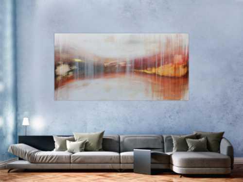 Schlichtes Acrylbild modern und abstrakt