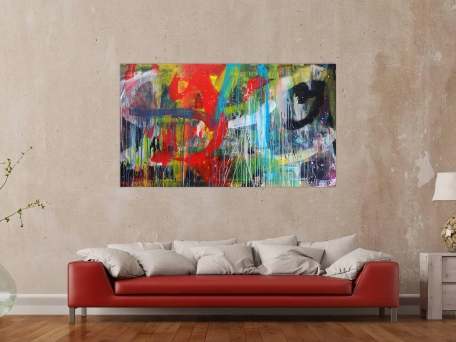 Moderne Kunst Leinwand