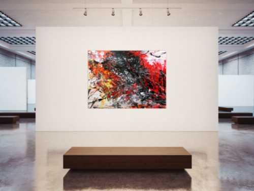 Sehr großes abstraktes Acrylgemälde modern und stilvoll