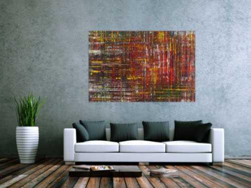 Abstraktes Gemälde Acrylbild Modern Art Spachteltechnik zeitgenössisch