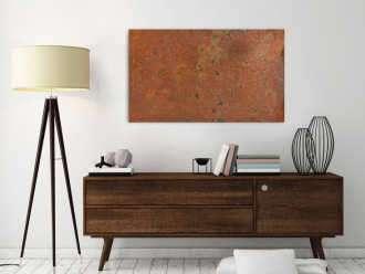 braune abstrakte gem lde online kaufen. Black Bedroom Furniture Sets. Home Design Ideas