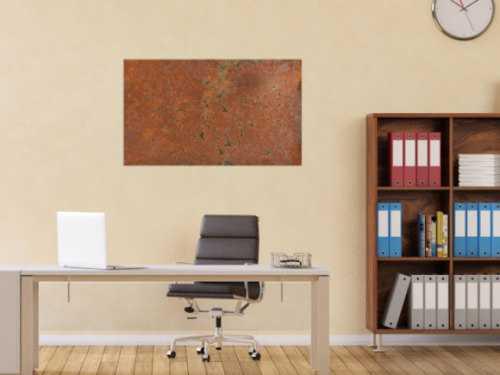 Gemälde aus echtm Rost abstrakte und modern