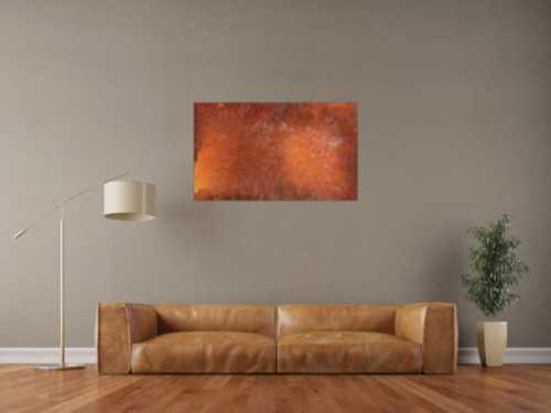 Rostbild abstrakt und modern