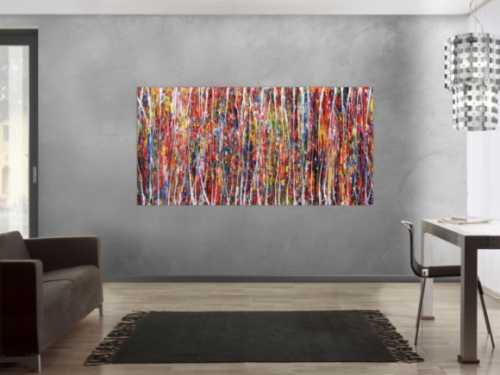 abstrakte acrylbilder in xxl gro e bilder auf leinwand. Black Bedroom Furniture Sets. Home Design Ideas