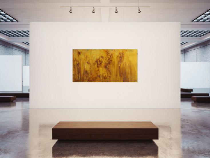 #1732 Gemälde Original abstrakt 100x200cm Aus echtem Rost Moderne Kunst ... 100x200cm von Alex Zerr