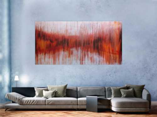 Abstraktes Acrylbild modern groß XXL