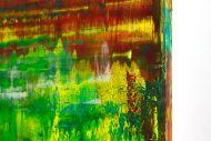 Detailaufnahme Abstraktes Original Gemälde 120x160cm Spachteltechnik Moderne Kunst handgemalt sehr bunt  einzigartig