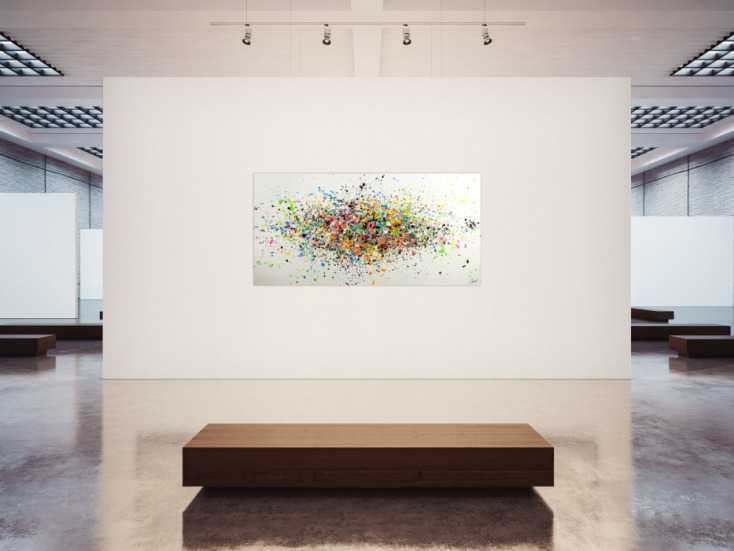 #1752 Gemälde Original abstrakt 100x200cm Minimalistisch Modern Art ... 100x200cm von Alex Zerr