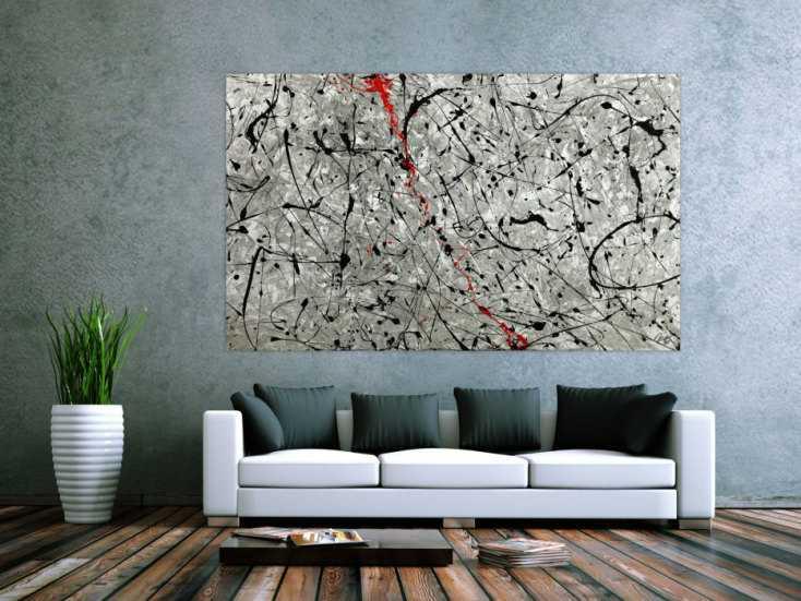 #1755 Abstraktes Original Gemälde 120x200cm Minimalistisch zeitgenössisch ... 120x200cm von Alex Zerr