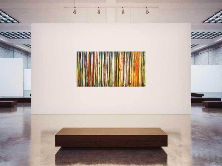 #1766 Gemälde Original abstrakt 100x200cm Spachteltechnik zeitgenössisch ... 100x200cm von Alex Zerr