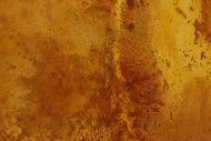 Detailaufnahme Gemälde Original abstrakt 180x110cm Aus echtem Rost expressionistisch handgemalt braun orange Unikat