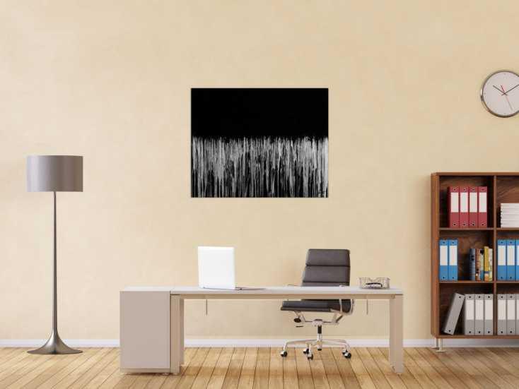 #1775 Gemälde Original abstrakt 80x100cm Minimalistisch zeitgenössisch ... 80x100cm von Alex Zerr