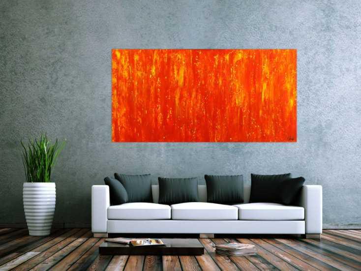 #1776 Gemälde Original abstrakt 90x180cm Spachteltechnik zeitgenössisch ... 90x180cm von Alex Zerr