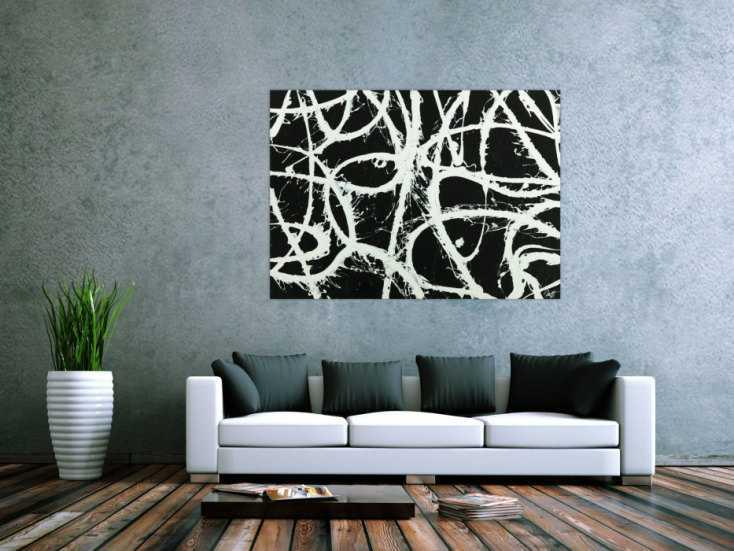 #1778 Original Gemälde abstrakt 100x140cm Minimalistisch zeitgenössisch ... 100x140cm von Alex Zerr