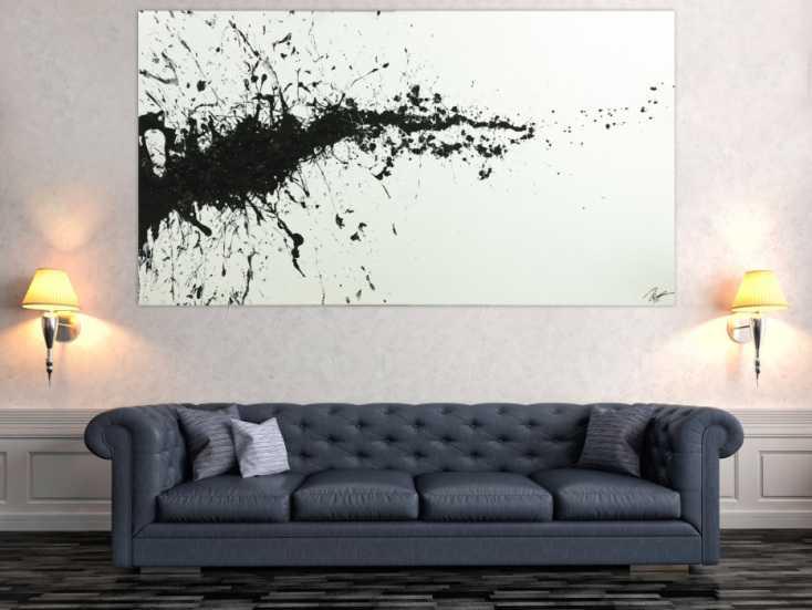 #1783 Gemälde Original abstrakt 110x200cm Minimalistisch zeitgenössisch ... 110x200cm von Alex Zerr
