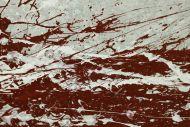 Detailaufnahme Gemälde Original abstrakt 80x160cm Action Painting Moderne Kunst auf Leinwand grau rot weis Einzelstück