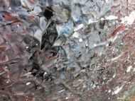 Detailaufnahme Abstraktes Acrylbild Wandbild Gemälde sehr groß modern Unikat