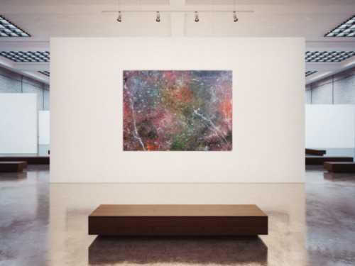 Abstraktes Acrylbild Wandbild Gemälde sehr groß modern Unikat