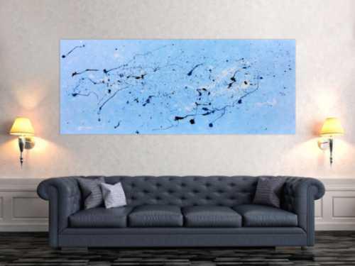 Modernes abstraktes Gemälde Wandbild aus Acryl