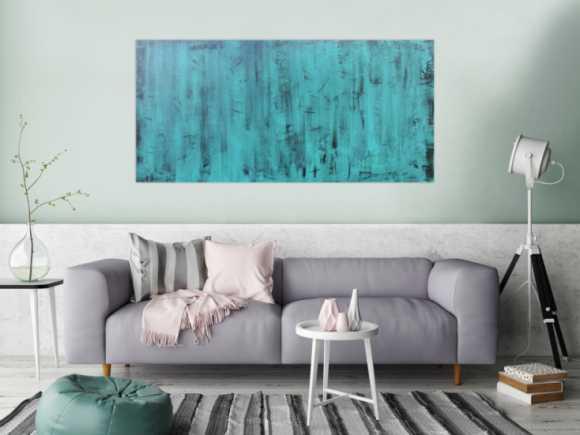 t rkise abstrakte gem lde online kaufen. Black Bedroom Furniture Sets. Home Design Ideas