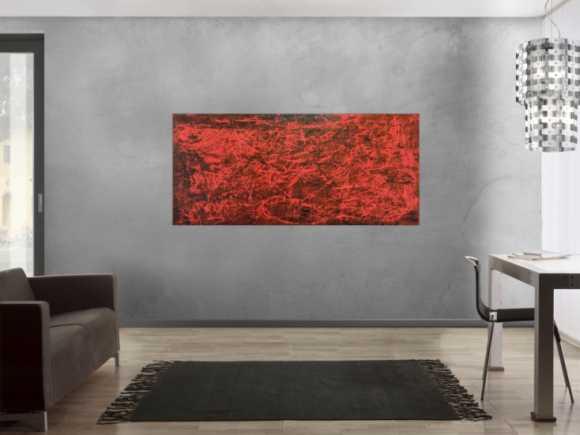 rote abstrakte gem lde online kaufen. Black Bedroom Furniture Sets. Home Design Ideas