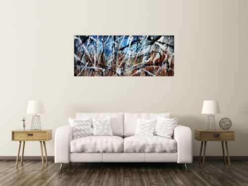 Abstraktes Gemälde modern