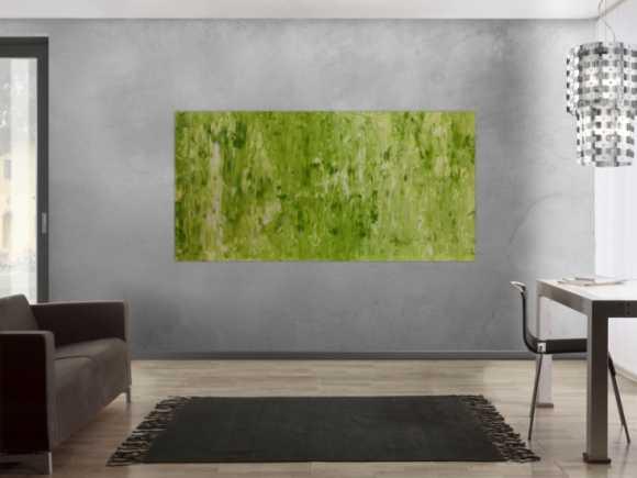 gelbe abstrakte gem lde online kaufen. Black Bedroom Furniture Sets. Home Design Ideas