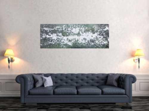 Modernes Gemälde aus Acryl abstrakt schlicht