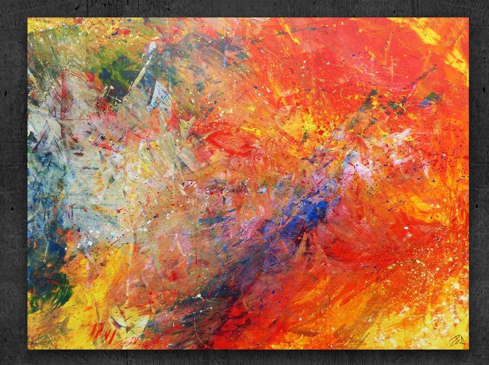 Tableau Acrylique Abstrait Xxl Peintures Peinture Abstrait