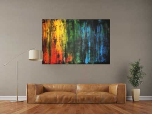 Modernes abstraktes Gemälde bunt