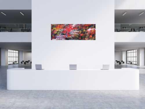 Abstraktes Gemälde moderne art