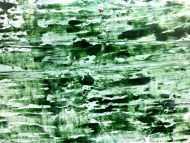 Detailaufnahme Abstraktes Acrylbild in rün und weiß sehr modern