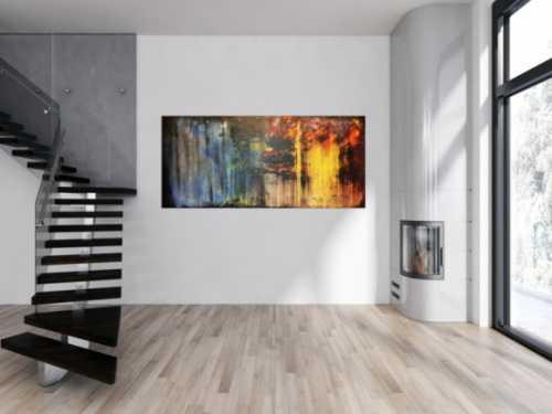 Sehr schönes abstraktes Acrylgemälde