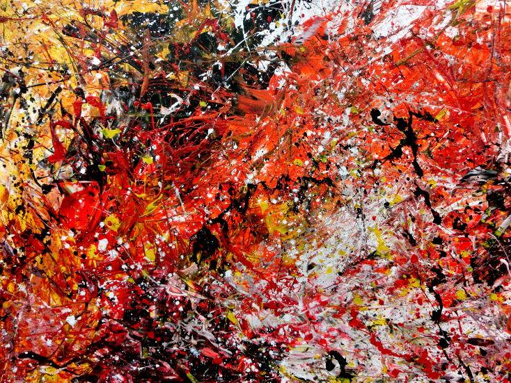 Xxxl acrylgem lde abstrakt auf leinwand 200x400cm for Bilder xxxl