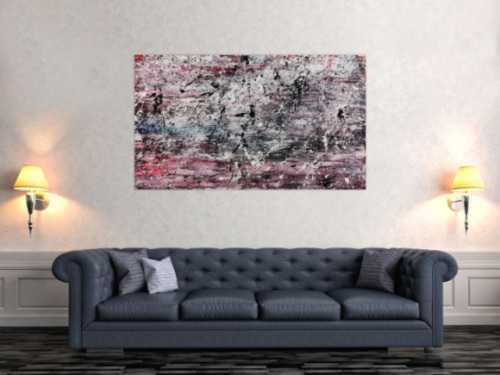 Schlichtes abstraktes Gemälde modern hell freundlich