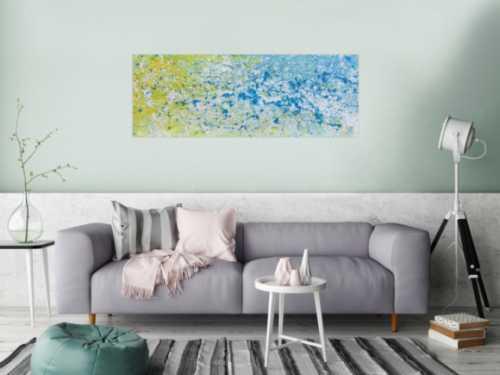 Modernes Gemälde abstrakt helle Farben bunt