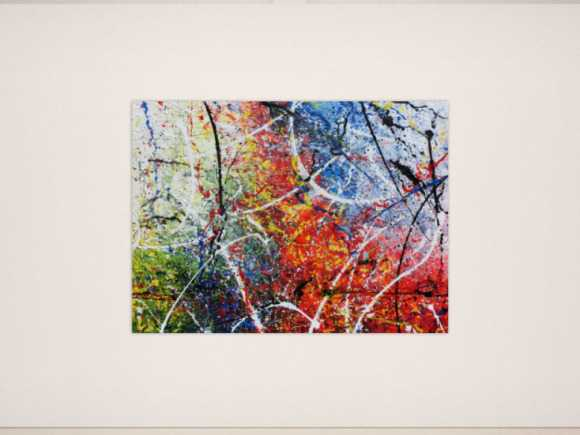 Modernes sehr großes abstraktes Acrylgemälde 150x200cm