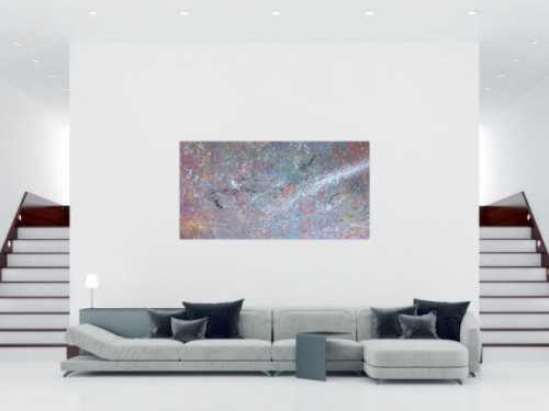 Modernes Acrylbild Lila