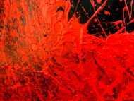 Detailaufnahme Buntes Acrylbild abstrakt modern mit vielen Farben zeitgenössisch