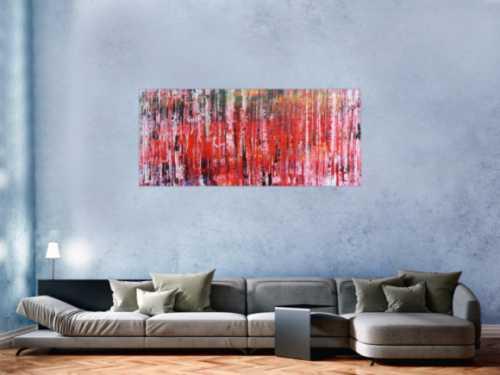 Modernes Acrylbild abstraktes Gemälde mit spachteltechnik