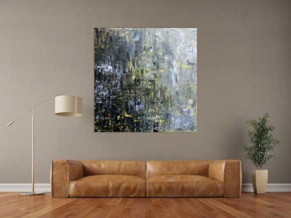 neueste abstrakte gem lde in xxl im online shop. Black Bedroom Furniture Sets. Home Design Ideas
