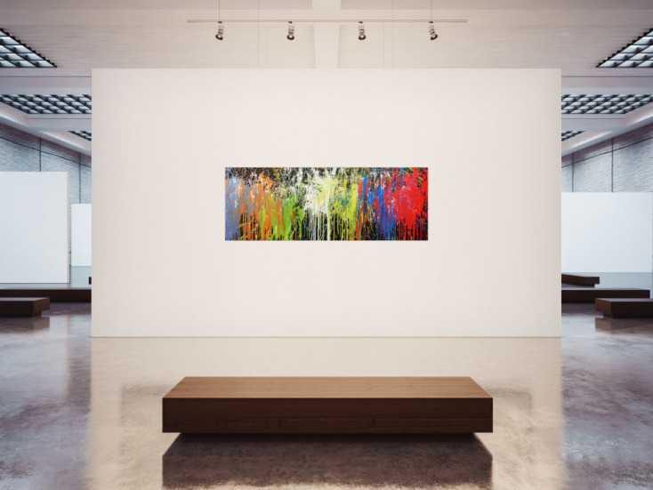 #82 Acrylbild bunt 70x200cm von Alex Zerr