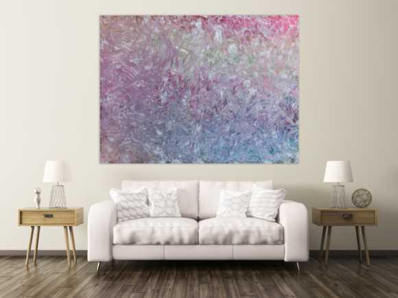 rosane abstrakte gem lde online kaufen. Black Bedroom Furniture Sets. Home Design Ideas