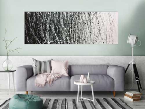 Original abstraktes Acrylbild modern