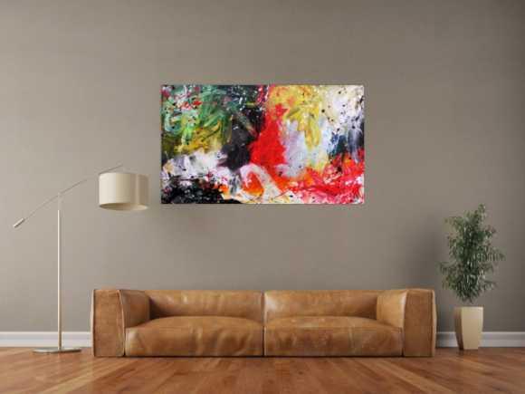 abstrakt expressionistische gem lde im xxl gro format online kaufen. Black Bedroom Furniture Sets. Home Design Ideas
