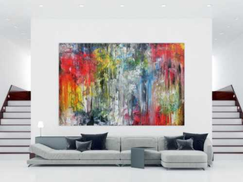abstrakte acrylbilder in xxl gro e gem lde auf leinwand kaufen. Black Bedroom Furniture Sets. Home Design Ideas