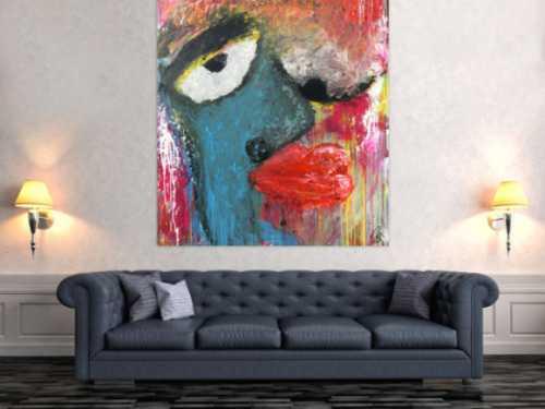 Abstraktes Portrait Nr. 1