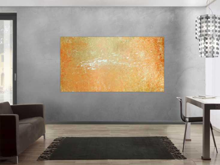 #96 Abstraktes Acryl Bild 100x200cm von Alex Zerr